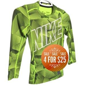 🔥4/$25🔥NIKE PRO Dry-Fit Youth Long Sleeve Shirt
